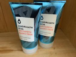 2 Bath & Body Works Water Hyaluronic Acid Hydrating Body Cre