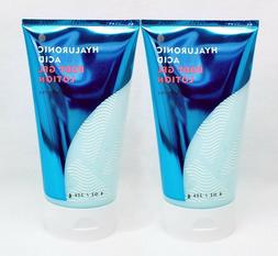 2 Bath & Body Works WATER - HYALURONIC ACID Hand Body Gel Lo