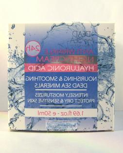 Dead Sea Collection 24h Anti Wrinkle Hyaluronic Acid Night C