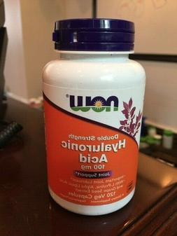 NOW Foods  Hyaluronic Acid - 120 Veg Capsules FREE SHIPPING!