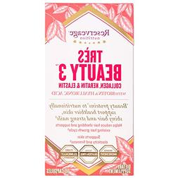 Reserveage - Tres Beauty 3 Collagen, Keratin & Elastin, Beau