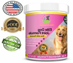 BEST Dog Joint Supplement MSM Glucosamine Chondroitin Flaxse