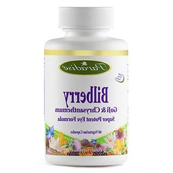 Paradise Herbs Bilberry Goji and Chyrsanthemum Vegetarian Ca