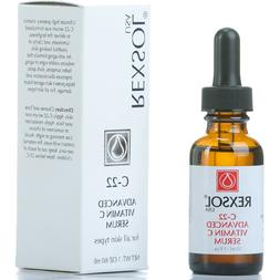 REXSOL C-22 ADVANCED VITAMIN SERUM, With Hyaluronic Acid