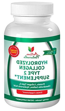 Activa Naturals Collagen Type 2 Hydrolyzed 1000mg Supplement