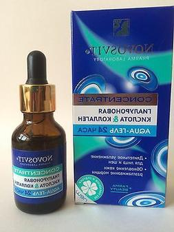 Novosvit Concentrate Aqua gel hyaluronic acid  & Collgen 24