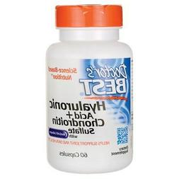 Doctor's Best Hyaluronic Acid + Chondroitin Sulfate with Bio