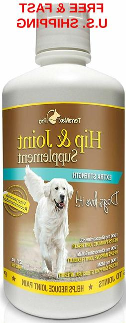 DOG Hip & Joint Liquid Supplement Glucosamine w/Chondroitin