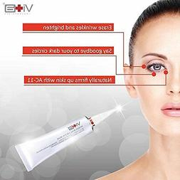 EYE CREAM FOR WRINKLES HYALURONIC ACID VITAMIN B12 INSTANT E