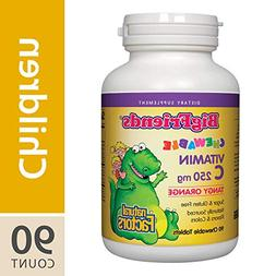 Natural Factors - Big Friends Chewable Vitamin C Tangy Orang