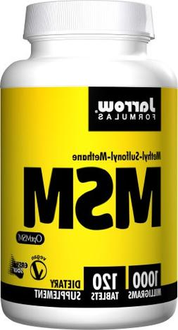 Jarrow Formulas, MSM, Joint Bone and Beauty Support, 1000mg,