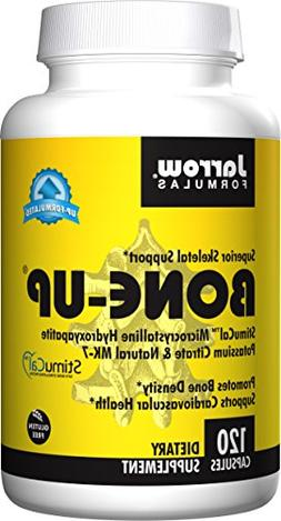 Jarrow Formulas Bone Up, Promotes Bone Density, 120 Caps