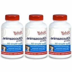 Schiff Glucosamine 2000mg with Vitamin D3 and Hyaluronic Aci
