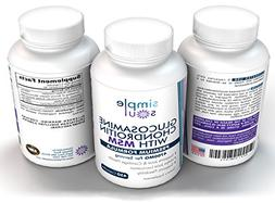 Glucosamine+Chondroitin+MSM Joint Relief&Mobility- Premium S