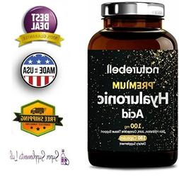 hyaluronic acid 100 mg 180 capsules supports