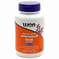 Hyaluronic Acid by Now Foods - 120 Capsules