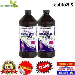 HYALURONIC ACID LIQUID 100 MG JOINT LUBRICATION BERRY FLAVOR