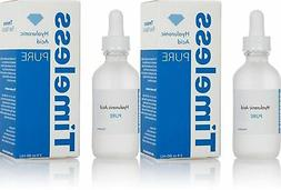 The Original Hyaluronic Acid Serum 100% Pure  - 2 Bottles of