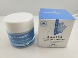 hydrating night cream hyaluronic acid and green