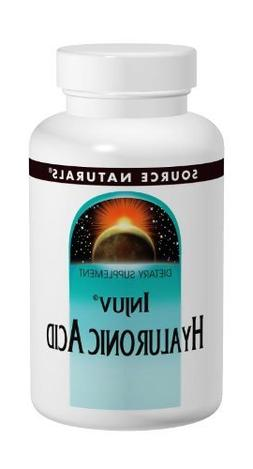 Source Naturals Injuv, Hyaluronic Acid, 70 Mg, 60 Softgels b