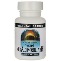 Source Naturals Injuv Hyaluronic Acid 70 mg 60 Sgels