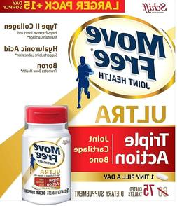 Move Free Joint Health Collagen Hyaluronic Acid Boron Ultra