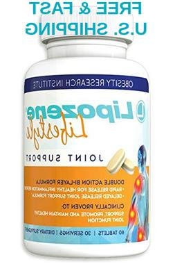 JOINT Support Glucosamine Chondroitin MSM Turmeric Hyaluroni