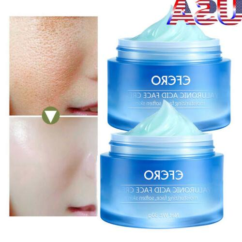 2pc face cream hyaluronic acid anti wrinkle