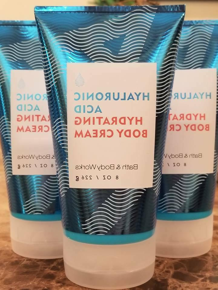 3 bath and body works water hyaluronic