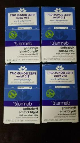 4 box lot derma e hyaluronic acid