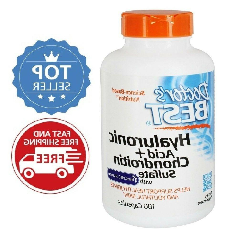 Doctor's Best with Sulfate, Gluten Joint Support, Caps