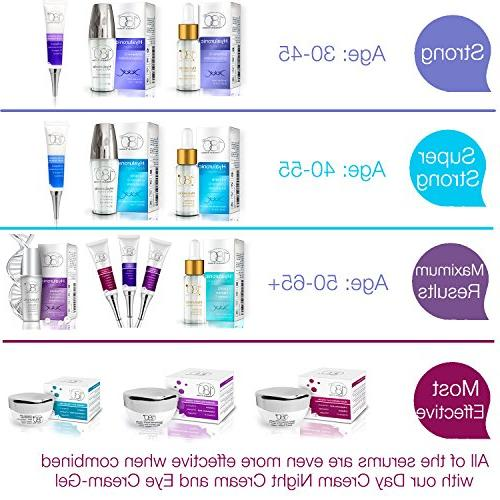 Hyaluronic Face - - Face Lift Serum Eyes Acid For - Hydrating Aging -