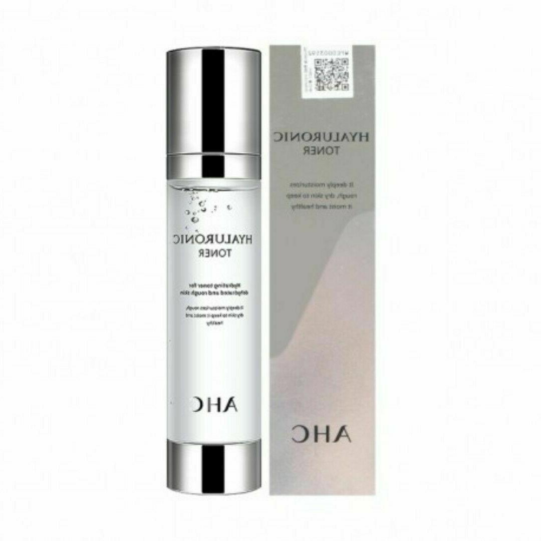 ahc hyaluronic acid toner 100ml best korean