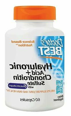 Doctor Best Hyaluronic Acid Chondroitin Sulfate Non-GMO Glut