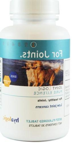 Hyalogic Pure Essence Beef-Flavored Chewable Tablets for Dog