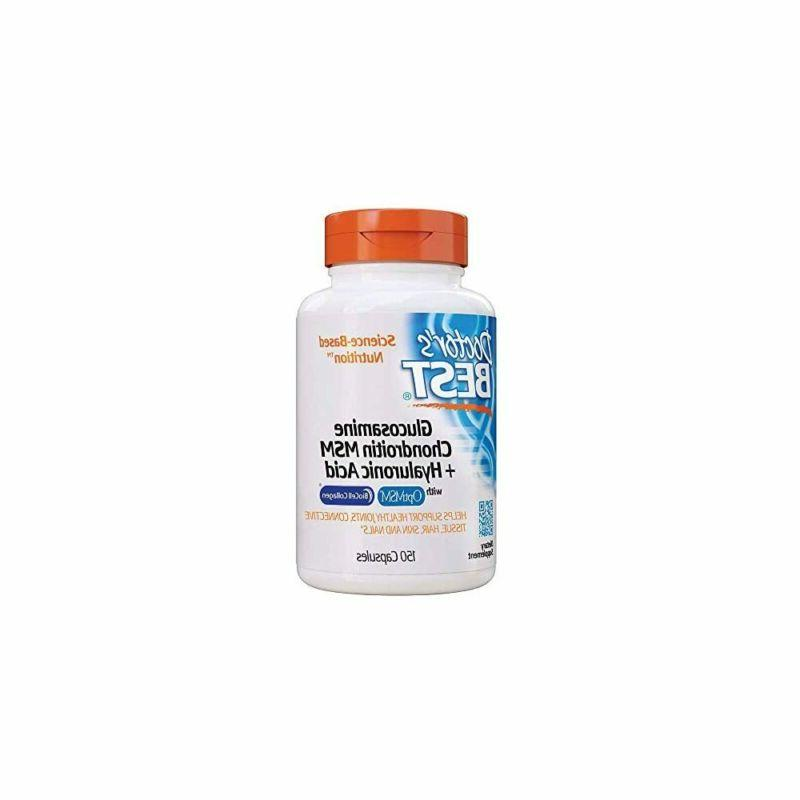 Glucosamine Chondroitin MSM and Hyaluronic Acid, Doctor's Be