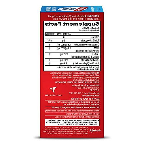 Move Free Plus MSM, 120 tablets Joint Supplement Glucosamine