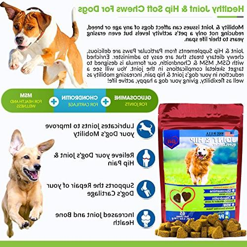 Glucosamine Dogs Hip with MSM, Chondroitin and Hyaluronic Acid -