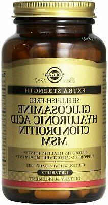 Glucosamine Hyaluronic Acid Chondroitin MSM , 120 tablet