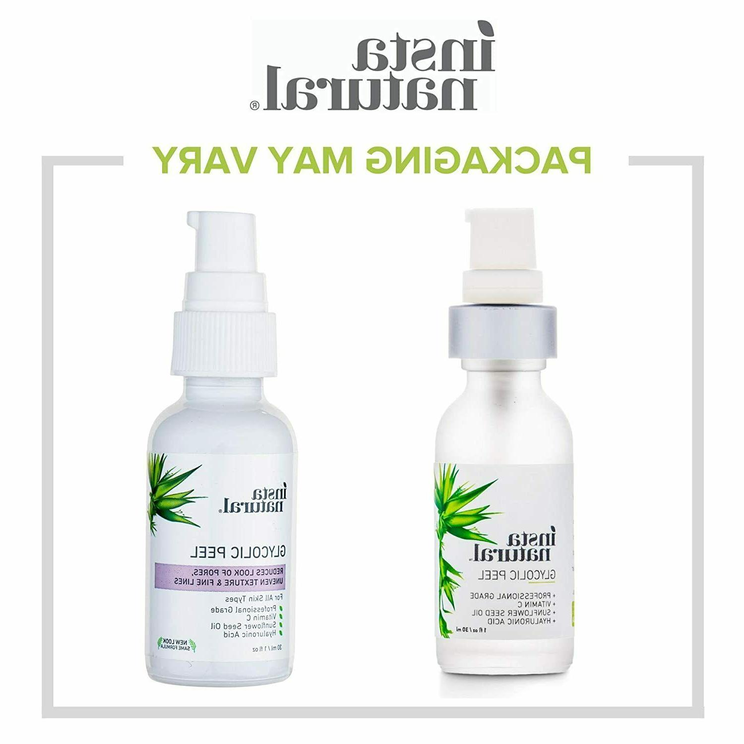 - With Vitamin Hyaluronic Treatment to