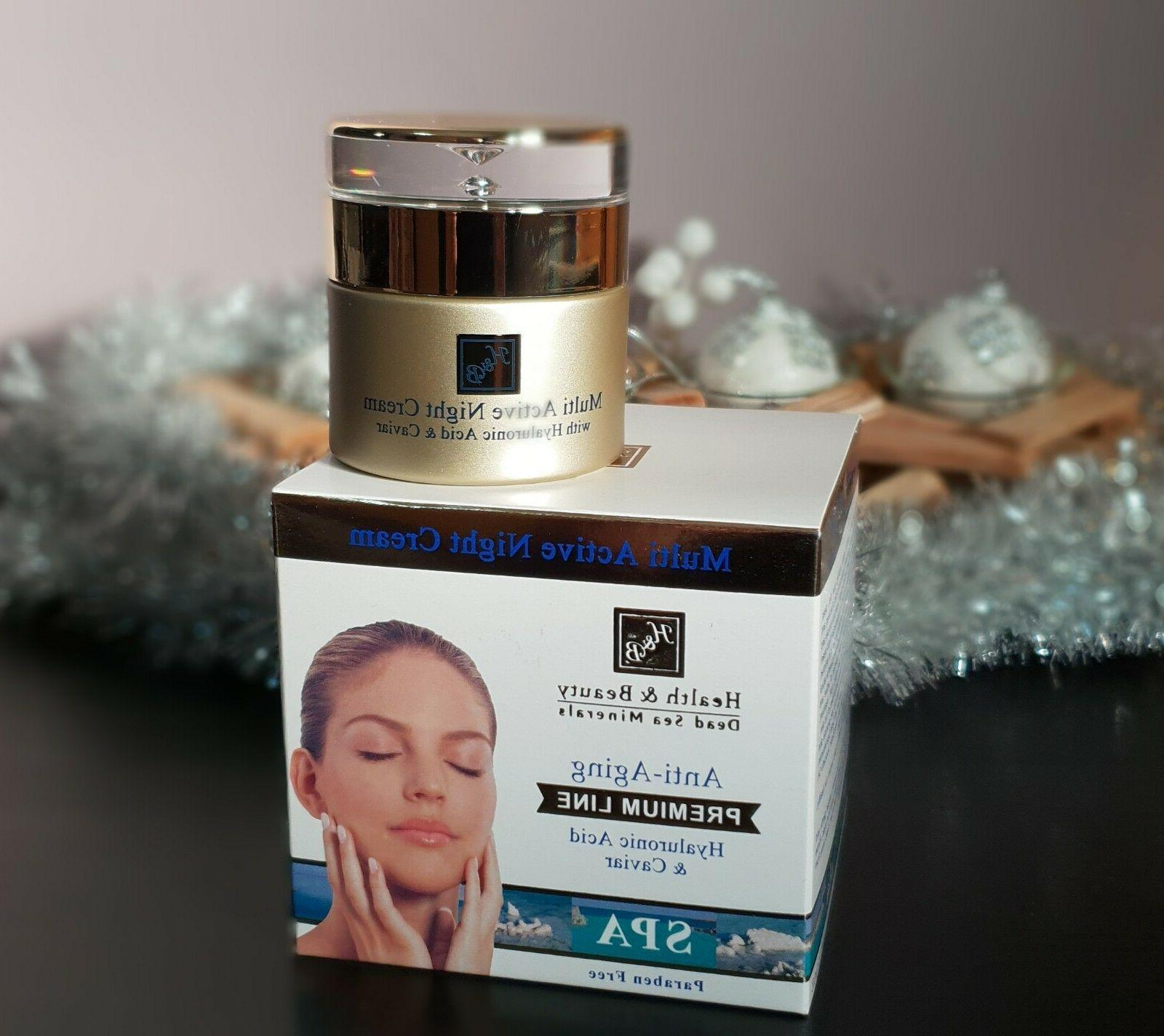 h and b multi active night facial