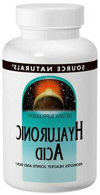 SOURCE NATURALS - Hyaluronic Acid 100 mg - 60 Tablets