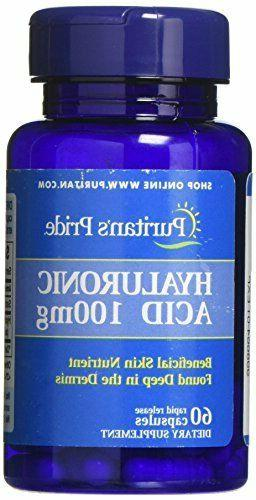 hyaluronic acid 100 mg capsules 60 count