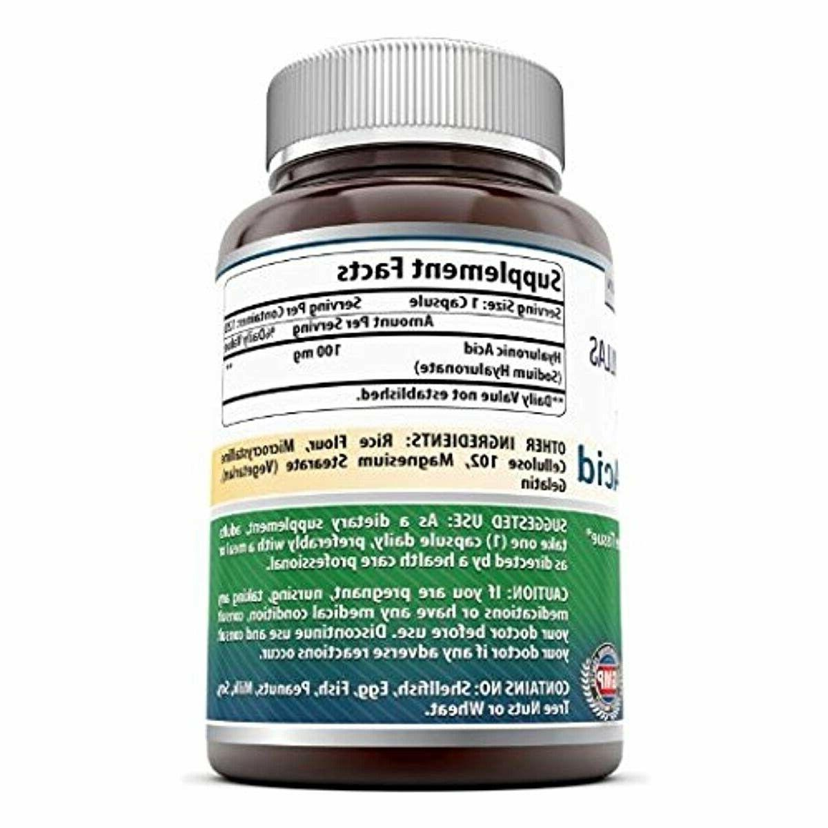 Hyaluronic Amazing Nutrition Health Supplements