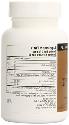 Hyaluronic from BioCell Collagen 60 tabs by Naturals
