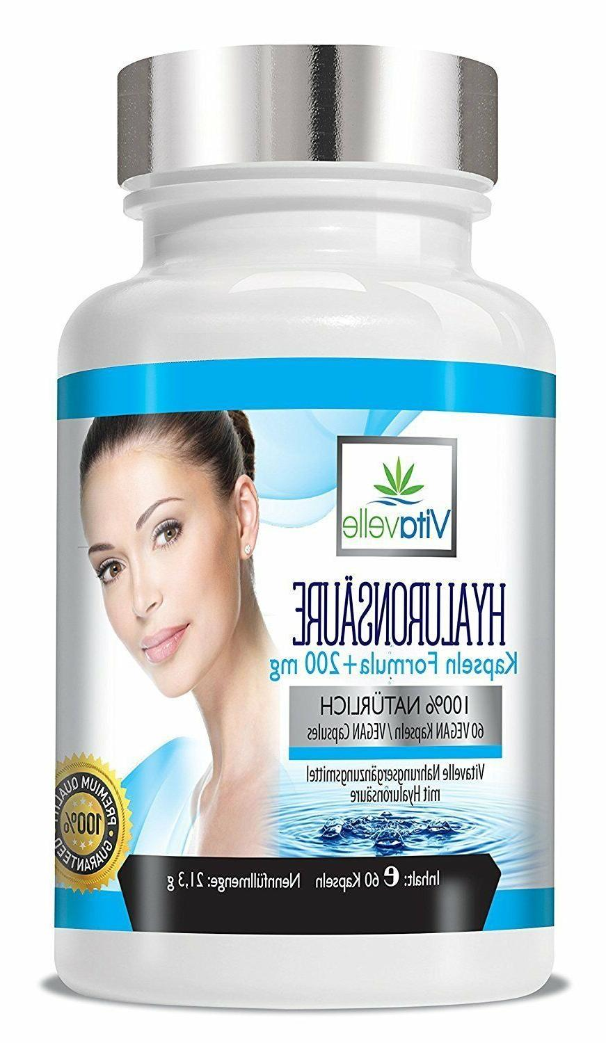 hyaluronic acid capsules high dosed hyaluron nutritional