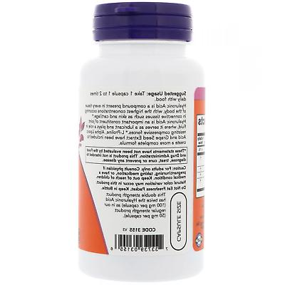 Now Foods Double 100 mg 60 Capsules