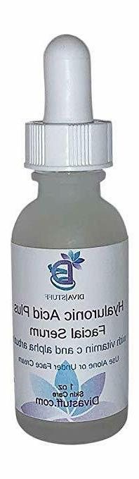 hyaluronic acid plus facial serum with alpha