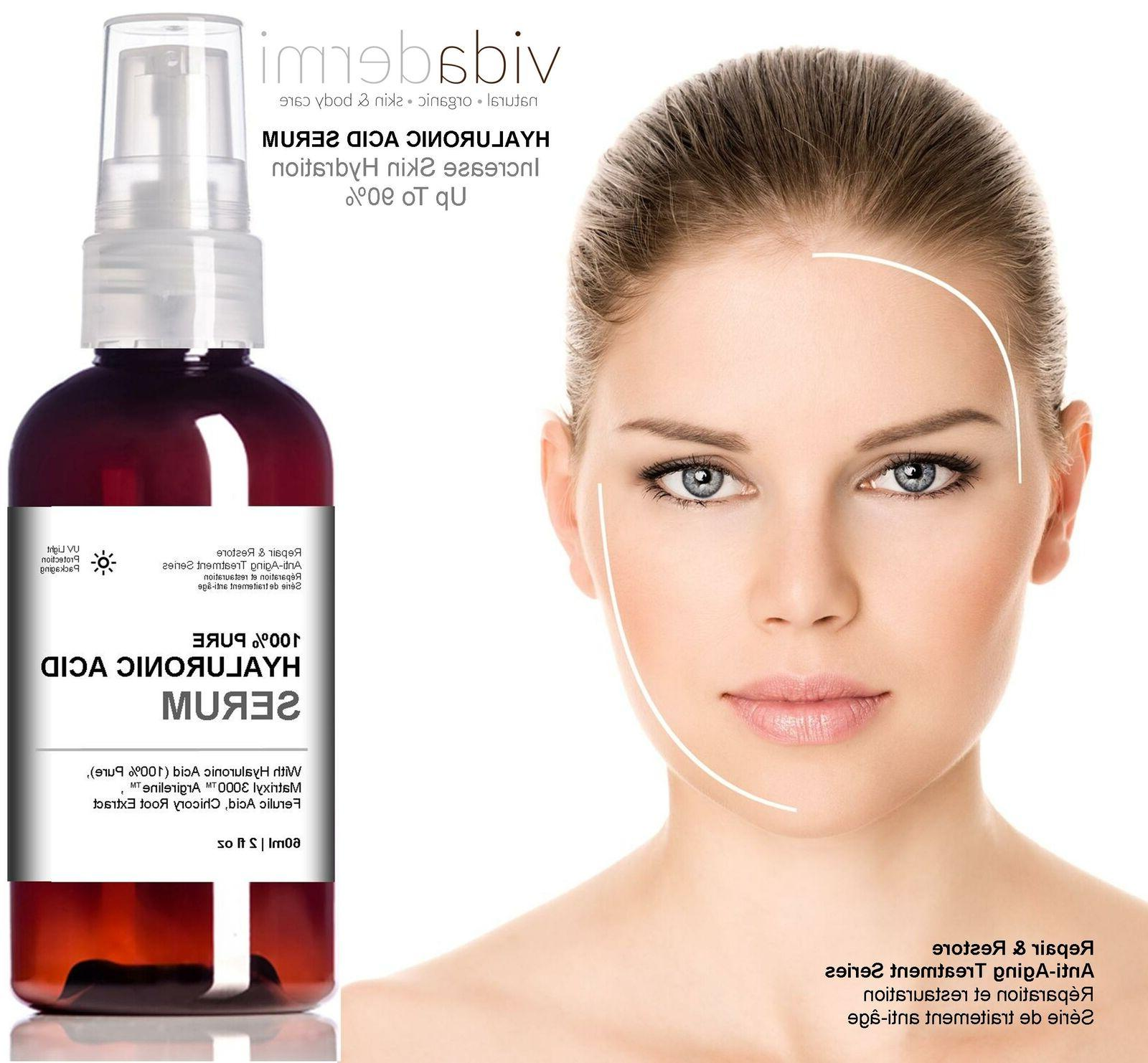Hyaluronic Acid Serum  20% Vitamin C, 3% Matrixyl 3000, 3% A