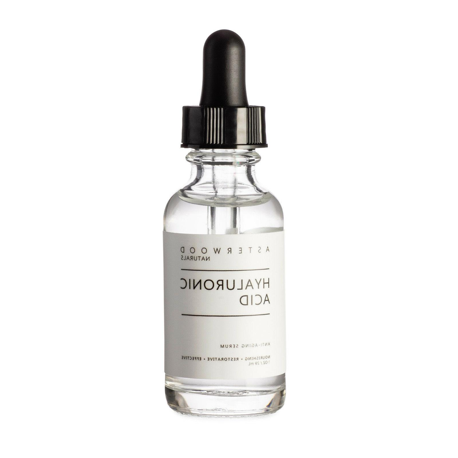 hyaluronic acid serum organic vegan anti aging